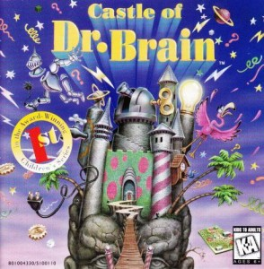 Castle of Dr. Brain Boxart