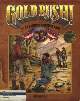 Gold Rush! Boxart