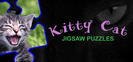 Kitty Cat Jigsaw Puzzles Logo