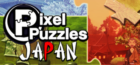 Pixel Puzzles Japan Logo