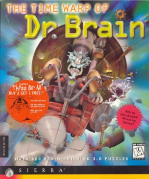 The Time Warp of Dr. Brain Boxart
