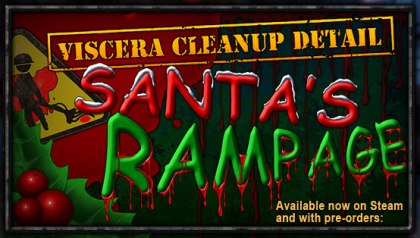 Viscera Cleanup Detail Santa's Rampage Logo