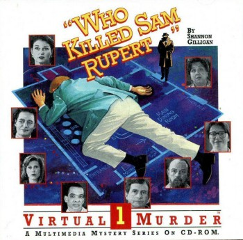 Who Killed Sam Rupert Virtual Murder 1 Boxart