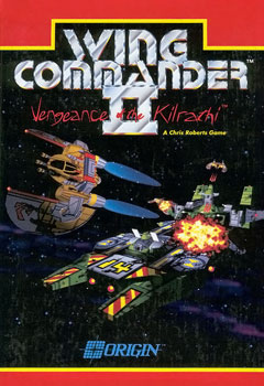 Wing Commander II: Vengeance of the Kilrathi Boxart