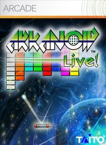 Arkanoid Live! Boxart