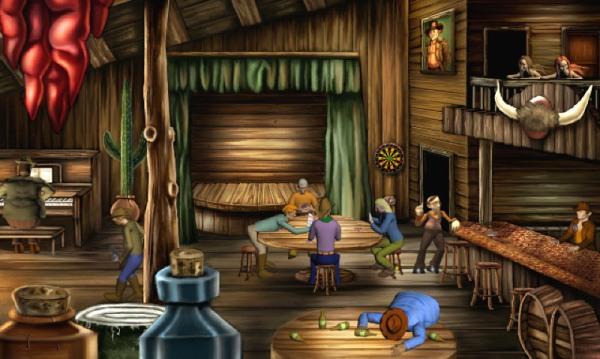 Al Emmo and the Lost Dutchman's Mine Screenshot
