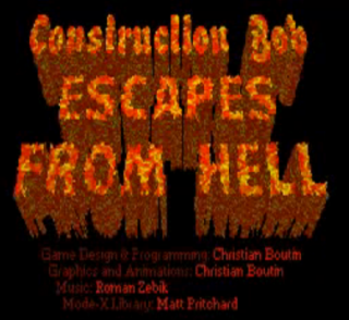 Construction Bob Escapes from Hell Logo