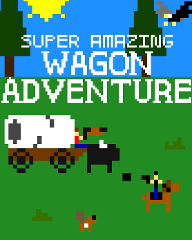 Super Amazing Wagon Adventure Boxart