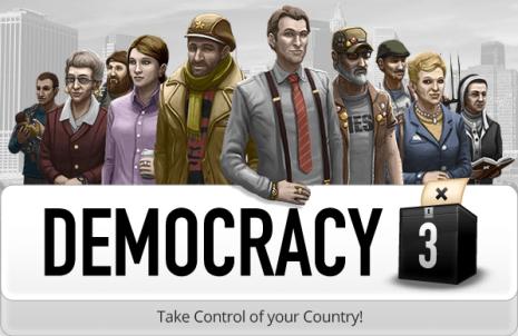 Democracy 3 Boxart