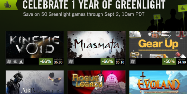 Greenlight Anniversary Sale
