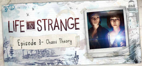 Life is Strange Episode 3 - Chaos Theory Logo