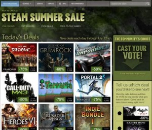 Steam Summer Sale 2012