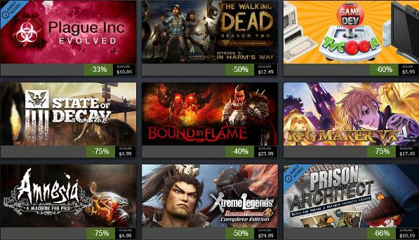 Steam Summer Sale 2014 Day 2
