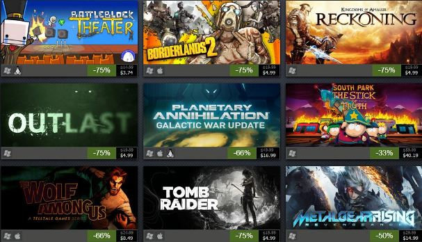 Steam Summer Sale 2014 Day 4