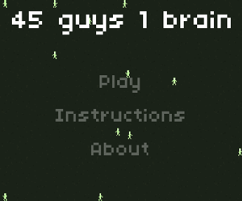 45 Guys 1 Brain Logo
