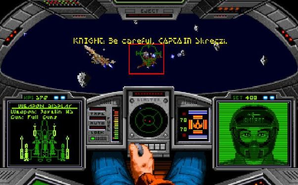 Wing Commander Screenshot