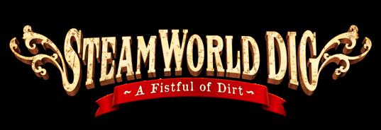 Resultat d'imatges de steamworld dig logo